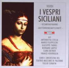 Giuseppe Verdi (1813-1901): I Vespri Siciliani, 2 CDs