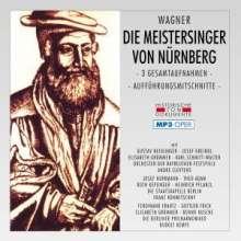 Richard Wagner (1813-1883): Die Meistersinger von Nürnberg (3 Gesamtaufnahmen/MP3-Format), 2 MP3-CDs