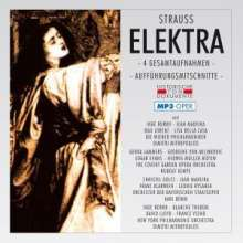 Richard Strauss (1864-1949): Elektra (4 Gesamtaufnahmen im MP3-Format), 2 MP3-CDs