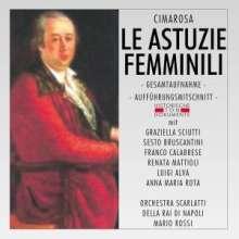 Domenico Cimarosa (1749-1801): Le Astuzie Femminili, 2 CDs