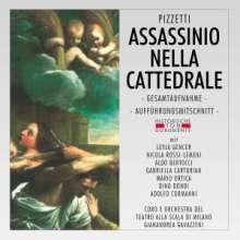 Ildebrando Pizzetti (1880-1968): Assassinio Nella Cattedrale, 2 CDs
