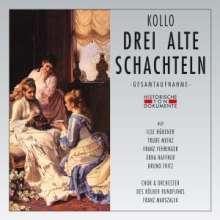 Walter Kollo (1878-1940): Drei alte Schachteln, 2 CDs