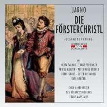 Georg Jarno (1868-1920): Die Försterchristl, 2 CDs
