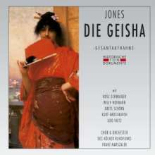 Sidney Jones (1861-1946): The Geisha (in deutscher Sprache), 2 CDs