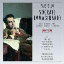 Giovanni Paisiello (1740-1816): Socrate Immaginario, 2 CDs