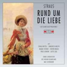 Oscar Straus (1870-1954): Rund um die Liebe, 2 CDs