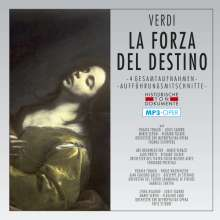 Giuseppe Verdi (1813-1901): La Forza del Destino (4 Gesamtaufnahmen im MP3-Format), 2 MP3-CDs