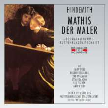 Paul Hindemith (1895-1963): Mathis der Maler, 2 CDs
