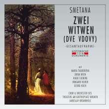 Bedrich Smetana (1824-1884): Die zwei Witwen (in deutscher Sprache), 2 CDs
