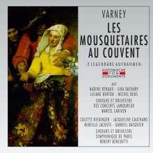 Louis Varney (1884-1908): Les Mousquetaires au Couvent (2 Gesamtaufnahmen ohne Dialoge), 2 CDs