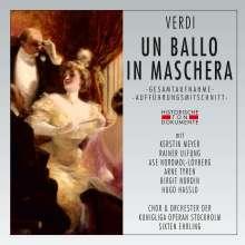 Giuseppe Verdi (1813-1901): Un Ballo in Maschera (in schwedischer Sprache), 2 CDs