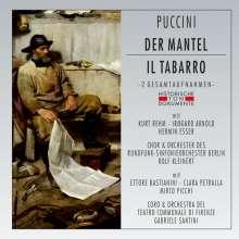 Giacomo Puccini (1858-1924): Il Tabarro (2 Gesamtaufnahmen in deutscher & ital.Sprache), 2 CDs