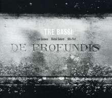 Tre Bassi - De Profundis, CD