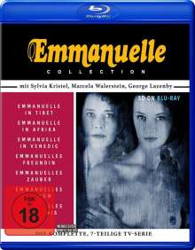 Emmanuelle Collection (Komplette Serie) (SD on Blu-ray), Blu-ray Disc