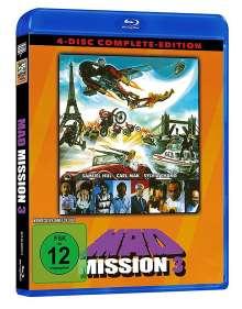 Mad Mission 3 (Blu-ray & DVD), 2 Blu-ray Discs und 2 DVDs