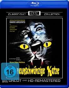 Die neunschwänzige Katze (Blu-ray), Blu-ray Disc
