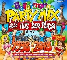 Ballermann Party Mix 1998 - 2018, 3 CDs