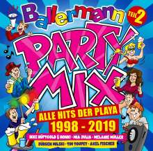 Ballermann Party Mix: Alle Hits der Playa 1998 - 2019 (Teil 2), 3 CDs