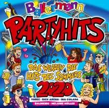 Ballermann Partyhits 2020: Das werden die Hits des Sommers, 2 CDs
