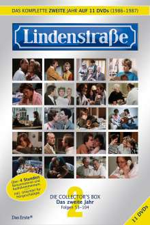 Lindenstraße Staffel 2, 11 DVDs