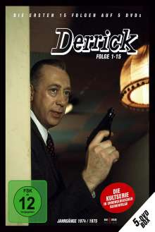 Derrick Collector's Box Vol. 1 (Folgen 1-15), 5 DVDs