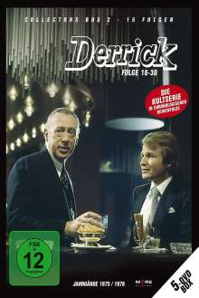 Derrick Collector's Box Vol. 2 (Folgen 16-30), 5 DVDs