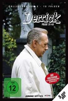 Derrick Collector's Box Vol. 3 (Folgen 31-45), 5 DVDs
