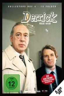 Derrick Collector's Box Vol. 4 (Folgen 46-60), 5 DVDs
