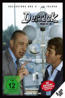 Derrick Collector's Box Vol. 5 (Folgen 61-75), 5 DVDs