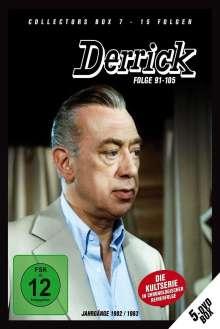 Derrick Collector's Box Vol. 7 (Folgen 91-105), 5 DVDs