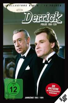 Derrick Collector's Box Vol. 8 (Folgen 106-120), 5 DVDs