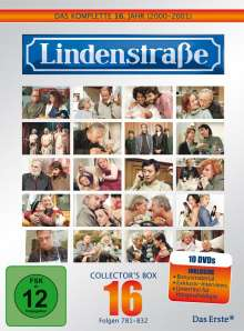 Lindenstraße Staffel 16, 10 DVDs