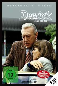 Derrick Collector's Box Vol. 12 (Folgen 166-180), 5 DVDs