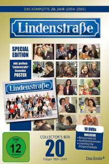 Lindenstraße Staffel 20 (Limited Edition mit Poster), 10 DVDs