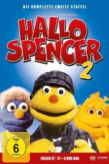 Hallo Spencer - Die komplette 2. Staffel, 6 DVDs
