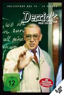 Derrick Collector's Box Vol. 16 (Folgen 226-240), 5 DVDs