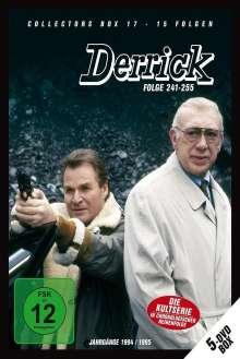 Derrick Collector's Box Vol. 17 (Folgen 241-255), 5 DVDs