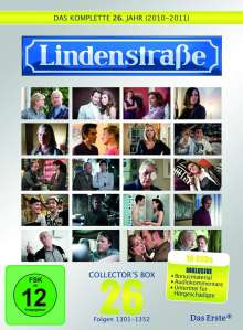 Lindenstraße Staffel 26 (Collector's Box), 10 DVDs