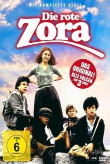Die Rote Zora (Komplette Serie), 3 DVDs