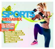 Sports Megamix 2020.1 - Your Workout Favourites, 3 CDs