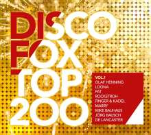 Discofox Top 200 Vol.1, 3 CDs
