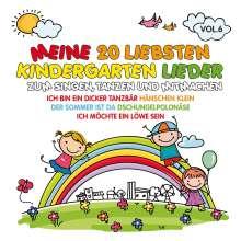 Various Artists: Meine 20 liebsten Kindergarten Lieder Vol. 6, CD