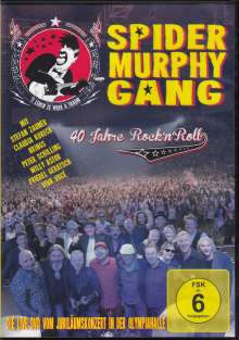 Spider Murphy Gang: 40 Jahre Rock'n'Roll: Live 2017, DVD
