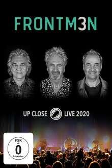 Frontm3n: Up Close: Live 2020, 2 DVDs