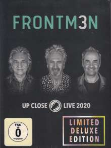 Frontm3n: Up Close: Live 2020 (Limited Deluxe Edition), 2 CDs, 2 DVDs und 2 Blu-ray Discs