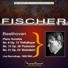 Ludwig van Beethoven (1770-1827): Klaviersonaten Nr.8,15,21, CD