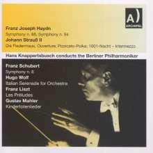 Hans Knappertsbusch dirigiert die Berliner Philharmoniker, 2 CDs