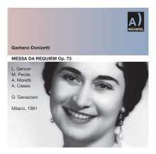 Gaetano Donizetti (1797-1848): Requiem, CD