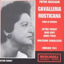 Pietro Mascagni (1863-1945): Cavalleria Rusticana (in dt.Spr.), CD