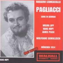 Ruggero Leoncavallo (1857-1919): Pagliacci (in deutscher Sprache), CD